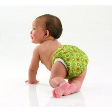 #BabyClothDiapers Wash cloth diapers separately from other laundry, Separate insert from diaper. If soiled, shake off solid waste into a toilet.