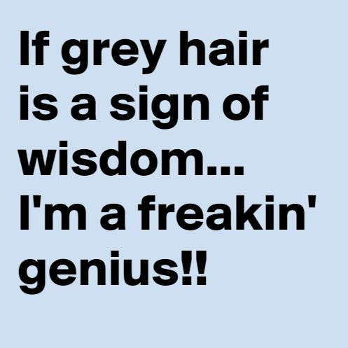 Gray Hair Funny Quotes. QuotesGram