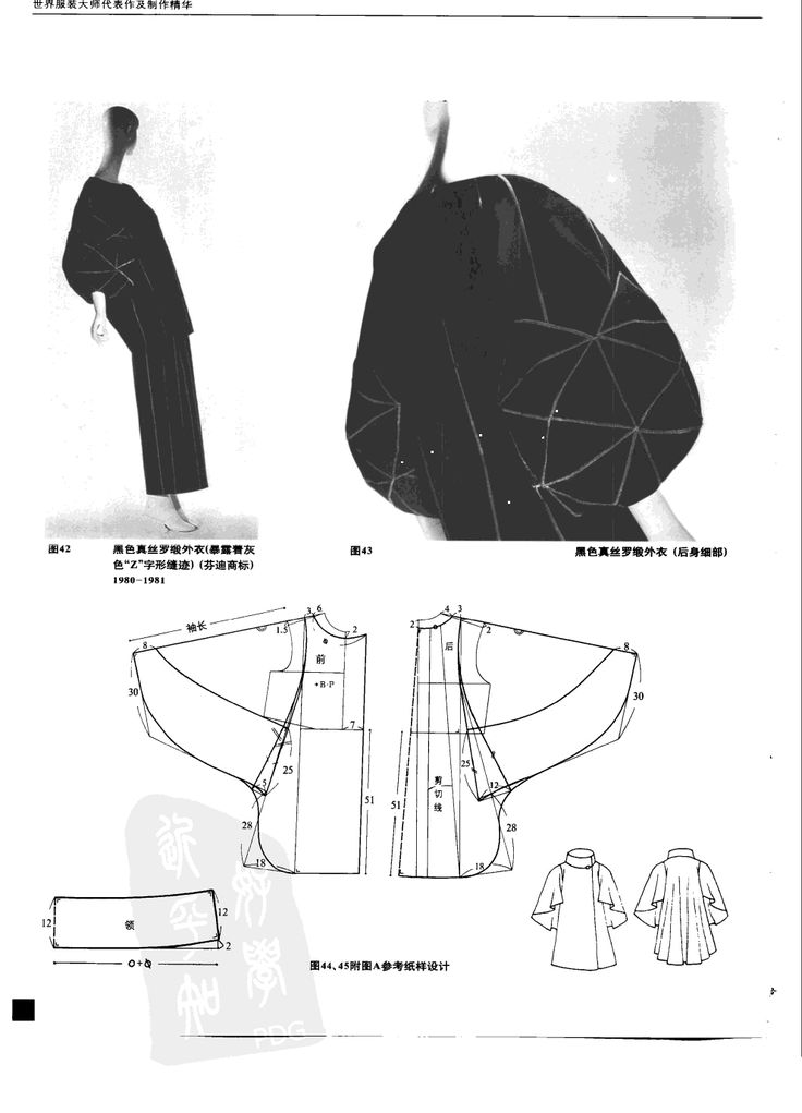 Mejores 196 imágenes de SEWING / CLOTHING -- PATTERNS & inspiration ...