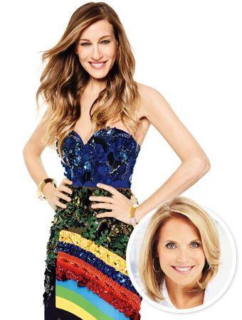 For our February cover story, on newsstands Friday, the one and only Katie Couric interviewed Sarah Jessica Parker—and had a blast doing it!