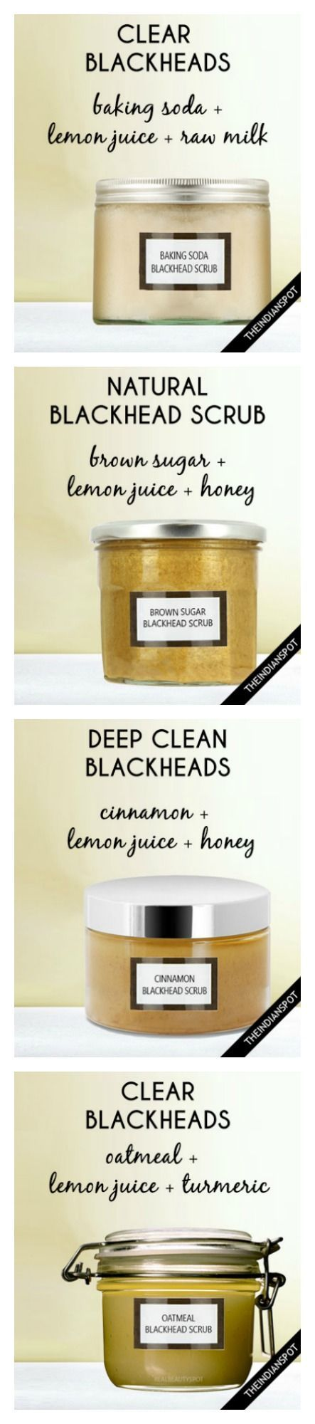 10 BEST HOMEMADE FACE, BODY, LIP, NAIL AND HAIR SCRUBS to clear blackheads