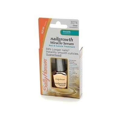 This stuff really does work to help grow long nails - Sally Hansen Nailgrowth Miracle Serum