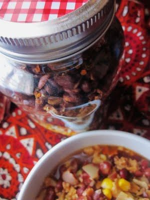 complete meal-in-a-jar mixes!