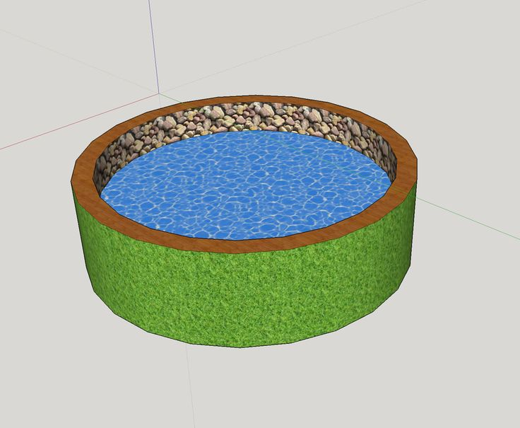 https://flic.kr/p/GuobuA | Grass-covered pool | Giulia Bergonzoni #design #swimming #pool #creative #outdoor #bath #tub #custom #grass #green #materials #pebbles #shapes #round #bath-tub #summer #interesting #designers