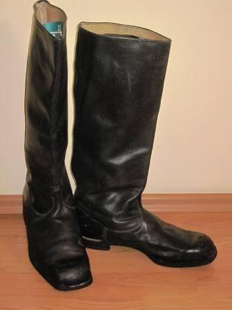 Офицерские кожаные сапоги с историей в дар (Москва). Дару~дар