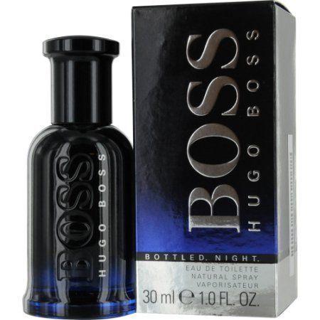 Boss Bottled Night Eau de Toilette Natural Spray, 1 fl oz, Pink