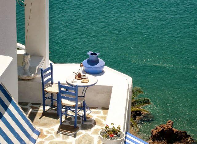 Anafi island, a small ebony sculpture in the Aegean Sea!