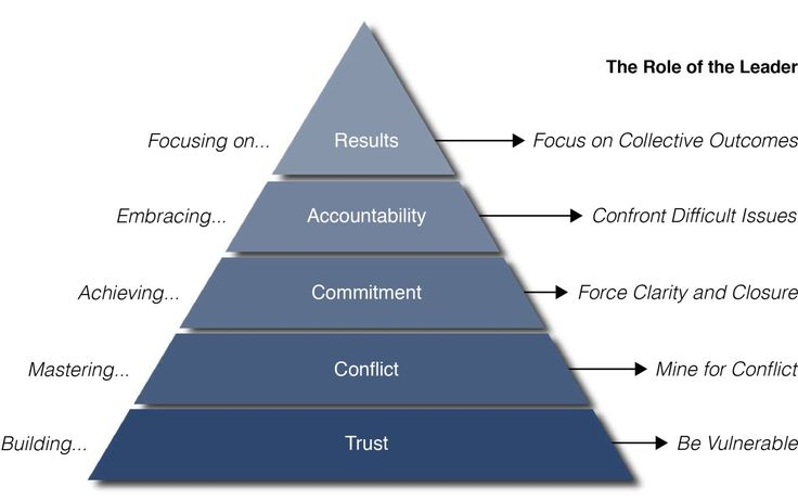The Five Behaviours of a Team. A model my clients can ...