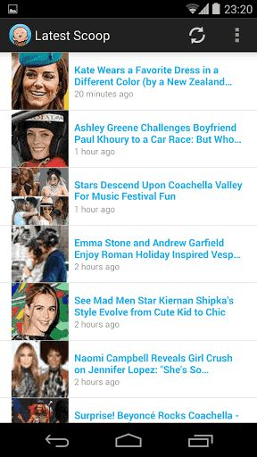 """Simply the best Celebrity News and Gossip App out there. Why? All the latest Celebrity News And Gossip and news as it happens served in a """"cool"""" app where you get a constant single feed. Not your average news feed. In this app you will find all the latest"""