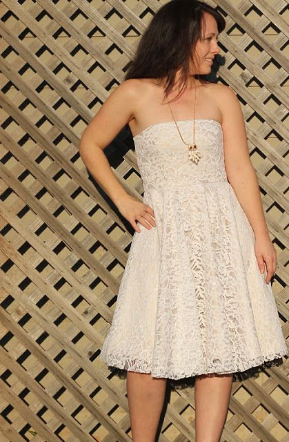 Sewing for Me: Lace Dress - girl. Inspired.