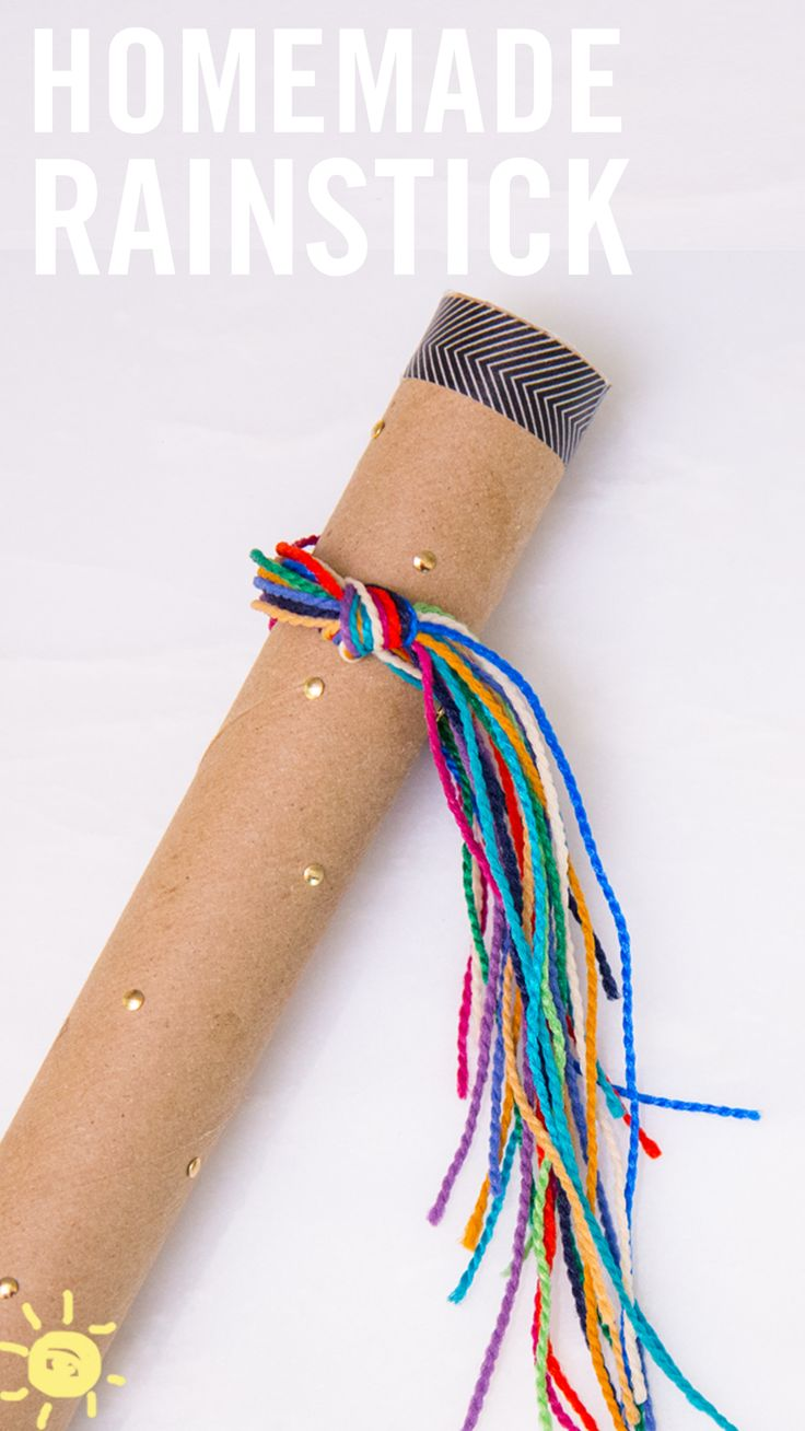 Preschool rain stick craft - Homemade Rainstick I Know A Handmade Rain Stick Might Not Be At The Top Rain Stickscat Craftskids