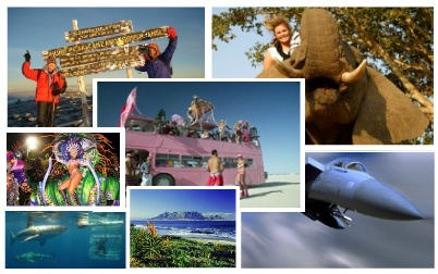 Experience some of the most breathtaking experiences in the world!