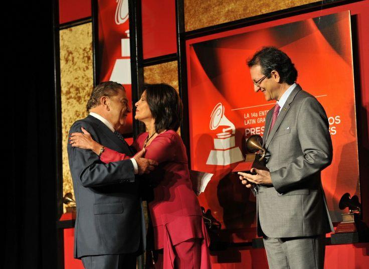 Don Francisco, Daniela Romo y Gabriel Abaroa: Photo