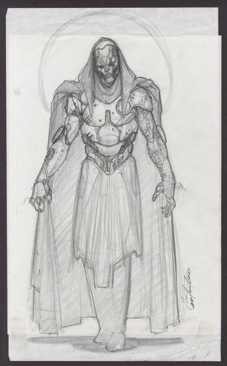 Dr. Doom Movie Costume Design Comic Art