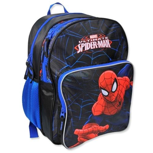 Spiderman Skoletaske, Stor