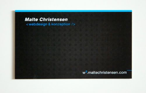 Business Card with Pattern Design 18