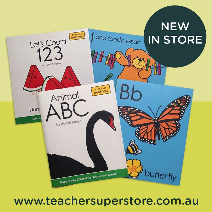 "The ""Animal ABC"" and ""Let's Count 123"" wall friezes teach children the letters of the alphabet and numbers 1-20, whilst brightening up classroom walls at the same time!"