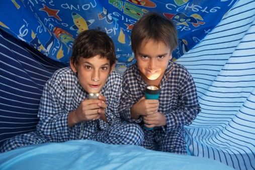 Pajama Party for boys ideas