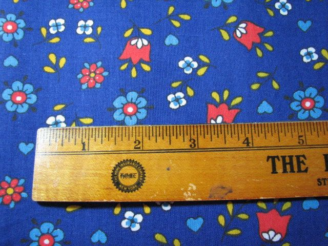 """Vintage 1960's fabric 44"""" wide by 1 & 1/3 yards long by MajorVintageShop on Etsy"""