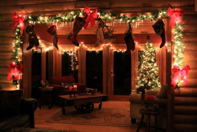 Christmas in the Main Cabin West Virginia vacation cabin rentals ...