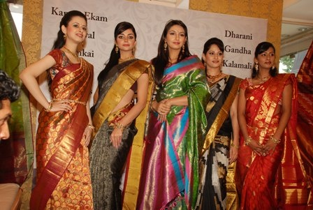 Silk Saree is an important part of every Tamil marriage