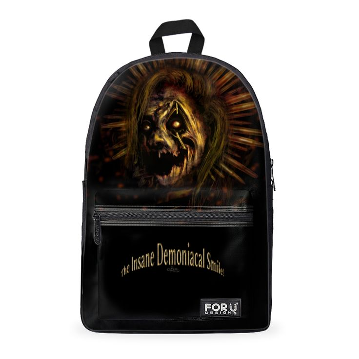 The #Insane #Demoniacal #Smile! A very #mystic #backpack !