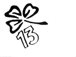 clover number 13 tattoo - Google Search