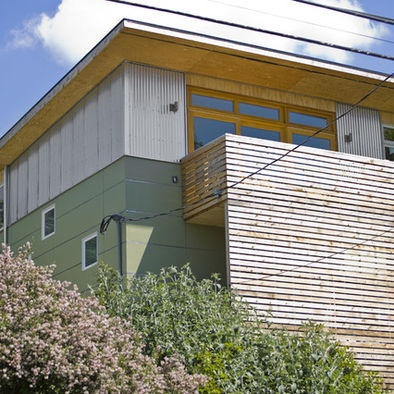 35 best commercial building images on pinterest for Modern house siding solutions