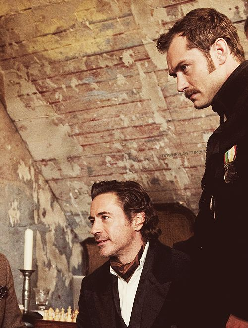 Sherlock and Watson.: Jude Law, Robert Downey, John Watson, Downey Jr, Movie, Sherlockholmes, Sherlock Holmes, Favorite