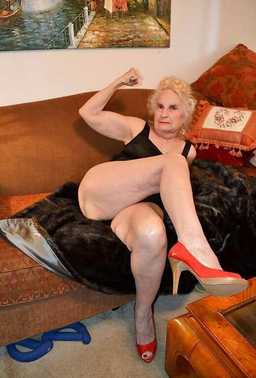 Reife nackte Beine