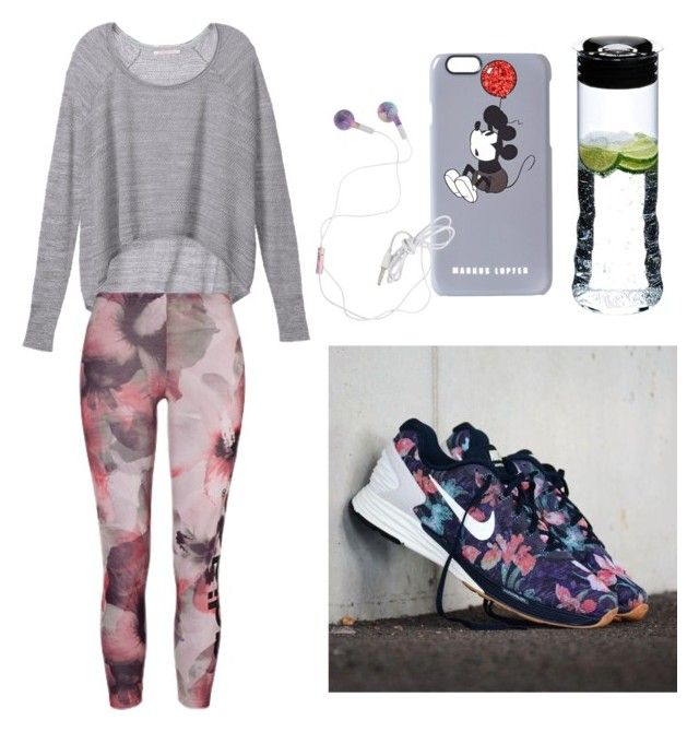 """""""Sporty ♡"""" by argkalant on Polyvore featuring Victoria's Secret, Riedel and Markus Lupfer"""