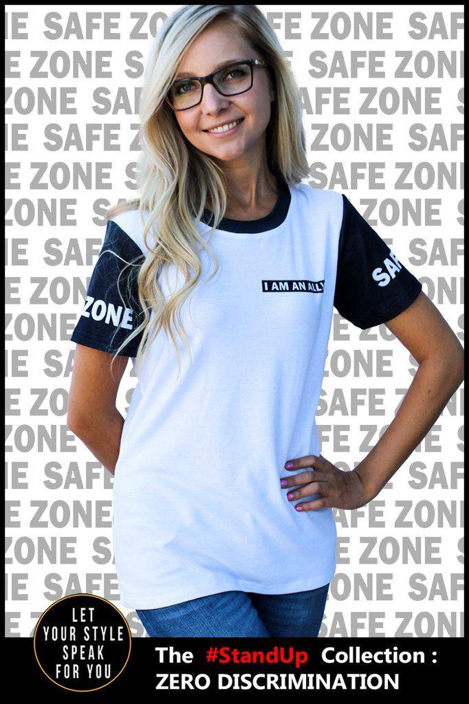 Safe Zone - Women's Cotton Tee