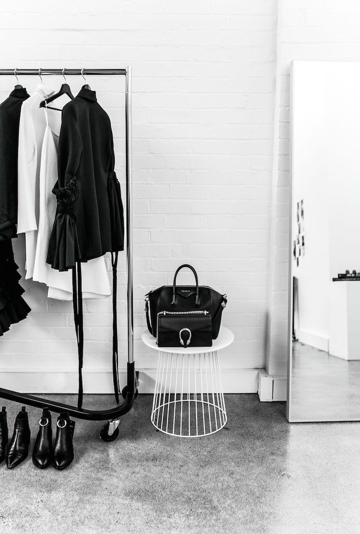 minimal workspace office interiors inspo fashion blogger modern legacy larsson…