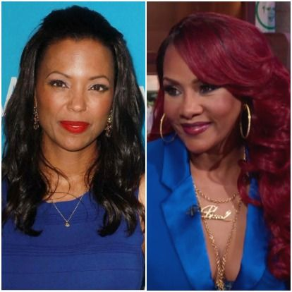 "In a recent episode of ""The Talk"" co-host Aisha Tyler bashes Vivica Fox. She talked about her plastic surgery and more in defense of 50 Cent."