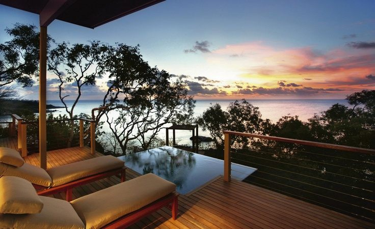 Book a room with a view. Lizard Island, Tropical North Queensland