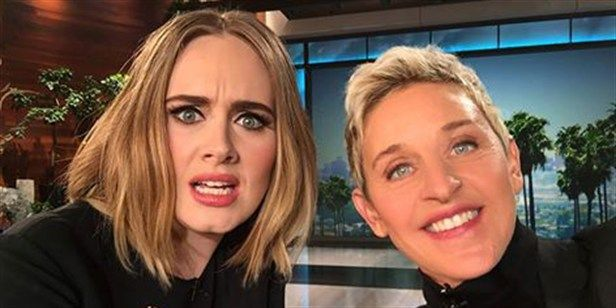 Adele on 'Ellen' is the Best Thing You'll See All Day