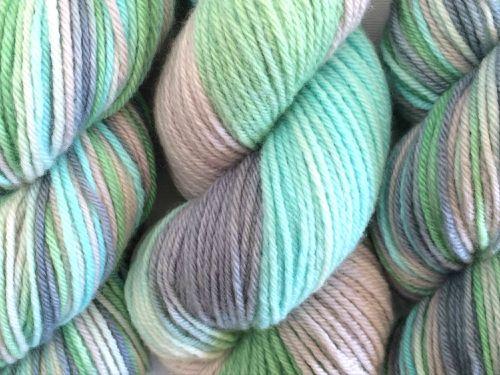 Oceana on 100% Merino Wool Worsted