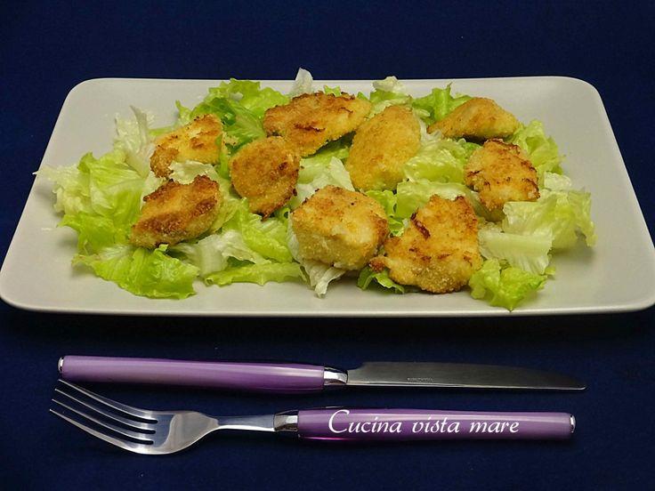 Bocconcini di pollo al forno Cucina vista mare