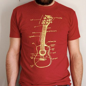 Guitar Lessons Tee