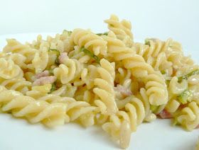 Thermomix Recipes: Zucchini, Pancetta and Pine Nuts Pasta with Thermomix