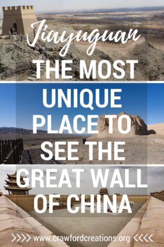 Great Wall of China | Jiayuguan | Great Wall | China Travel