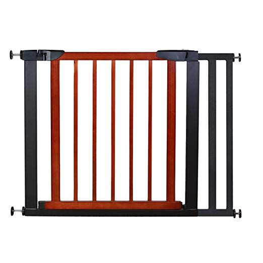 Fairy Baby Pet & Baby Gate Narrow Extra Wide for Stairs