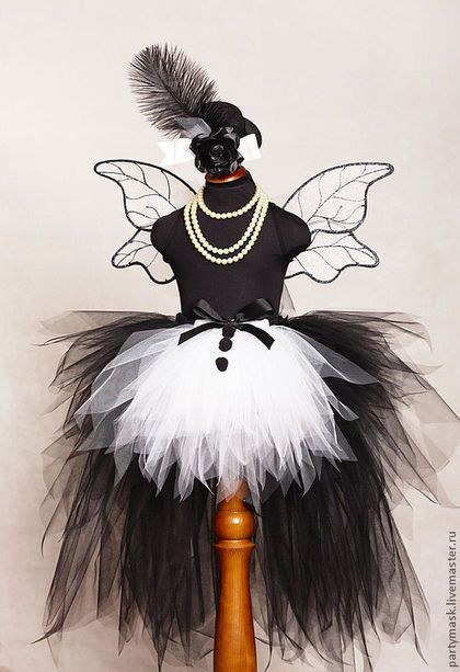 """Карнавальные костюмы ручной работы. Ярмарка Мастеров - ручная работа. Купить """"Фея-фокусница"""" карнавальный костюм. Handmade. Чёрный, юбка"""
