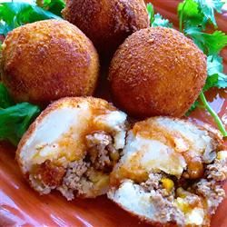 Papas Rellenas (Fried Stuffed Potatoes) Allrecipes.com