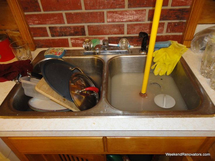 Kitchen Sink Drain Unclog