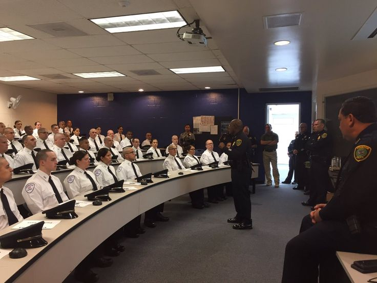 """Houston PoliceVerified account   @houstonpolice  Nov 13  More  """"Move hearts and minds. Respect yourselves, this department, and the community,"""" - Executive Assistant Chief @TroyFinner"""