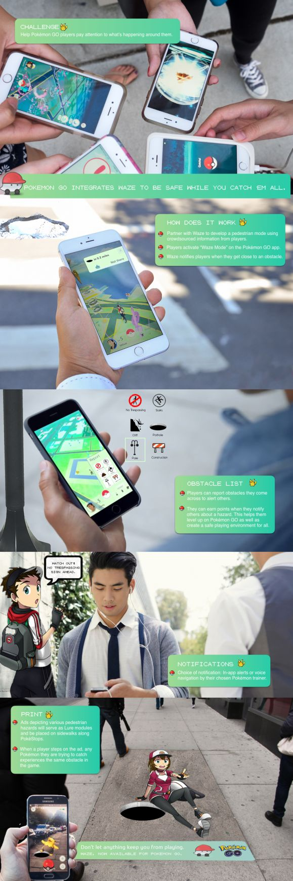 Pokemon GO: Pokemon GO integrates Waze to be safe while you Catch 'em all