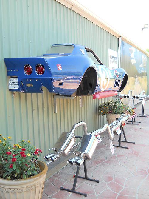 Outside Mid-America Corvette