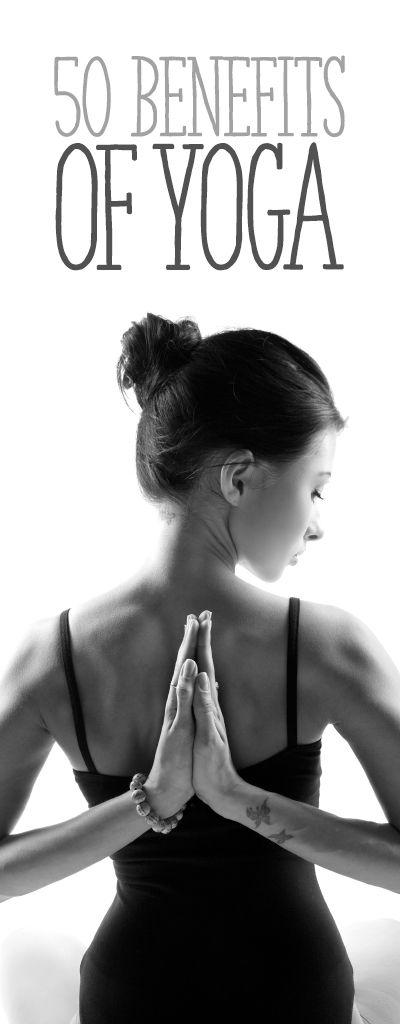 50 Benefits of Yoga