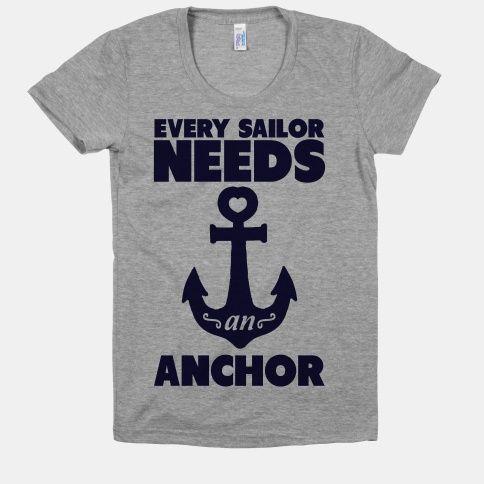 Every Sailor Needs an Anchor